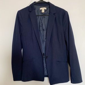 Navy blue H&M blazer